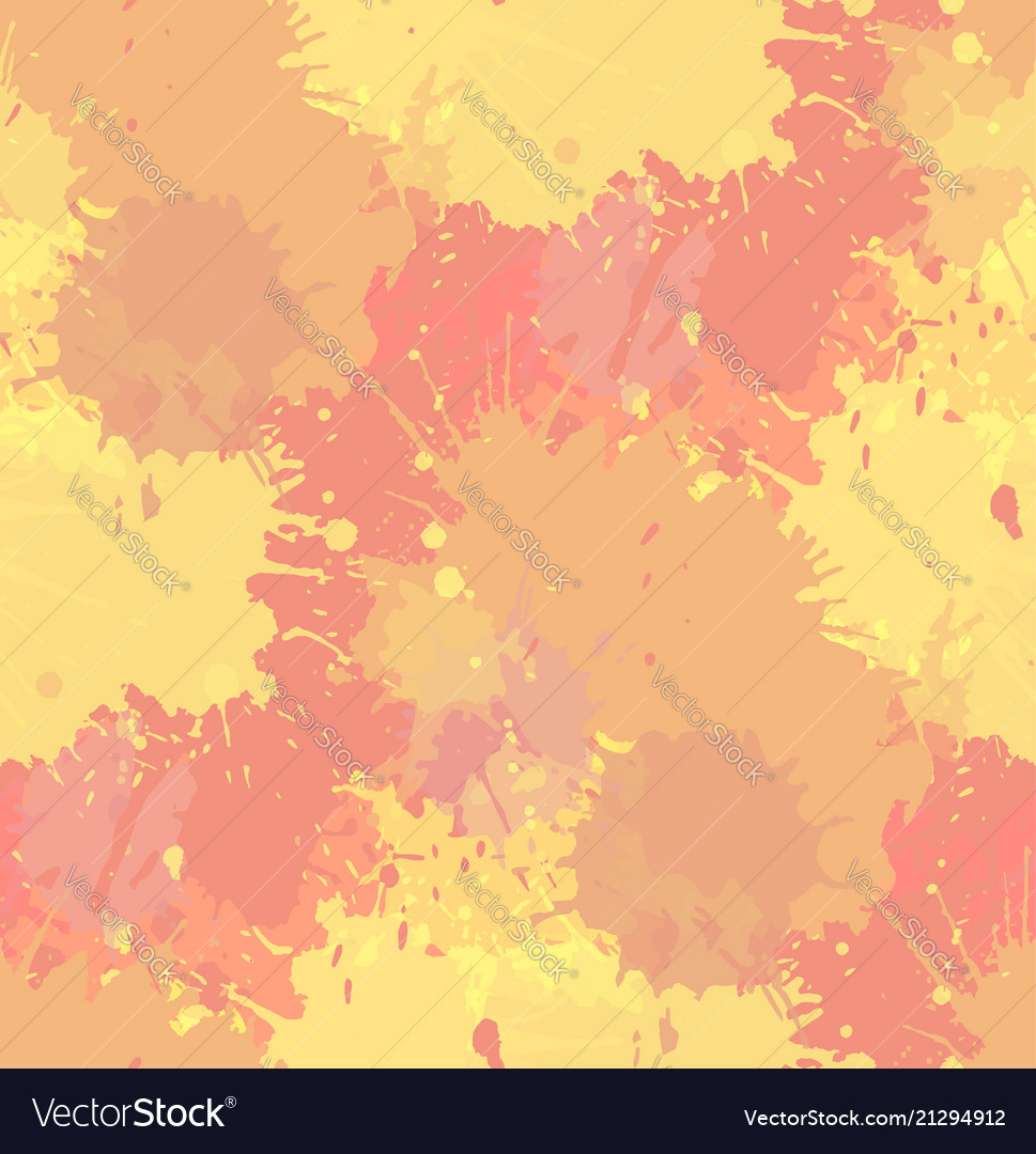 Seamless grunge texture with watercolor splashes