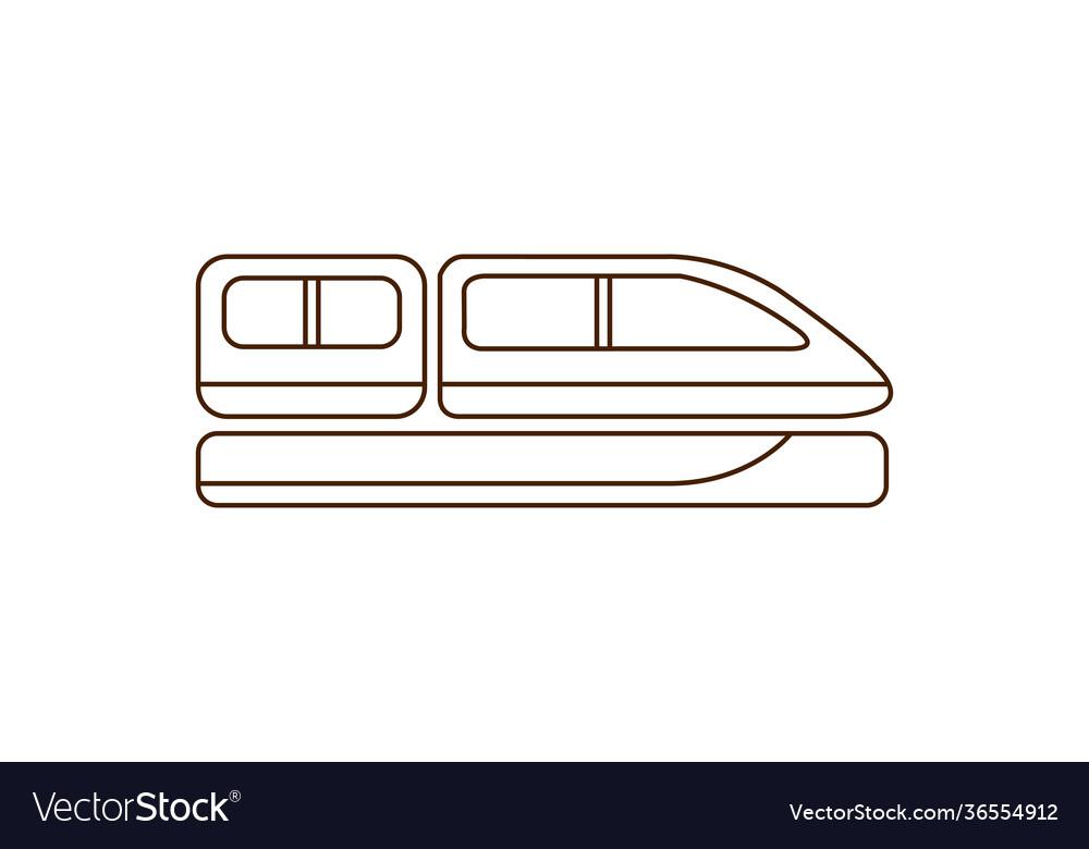Train cabin icon