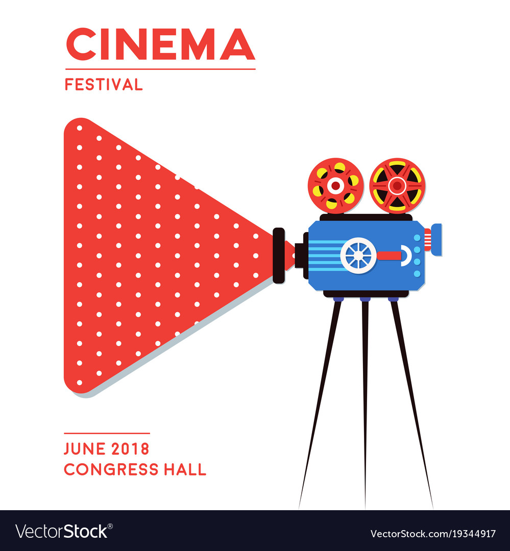 Movie cinema poster design