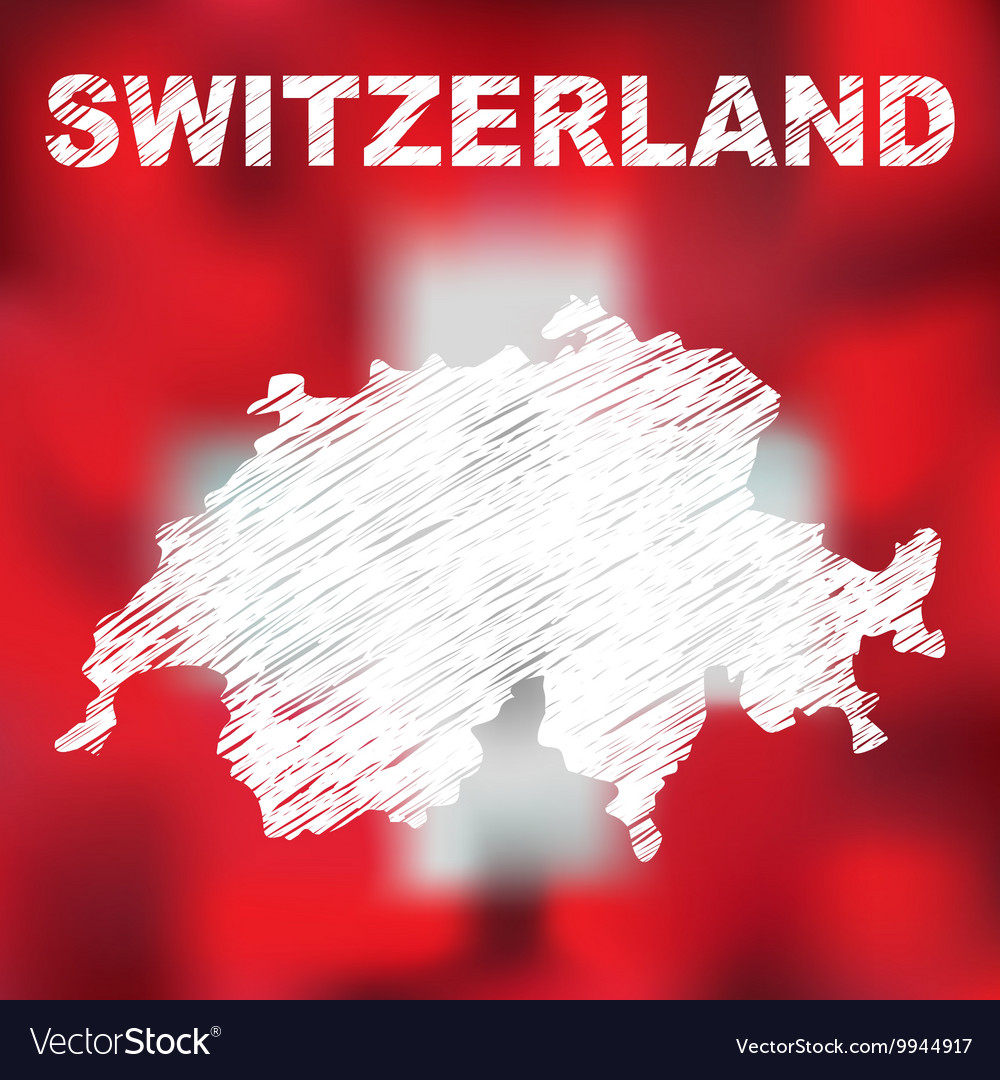 Swiss Abstract Map