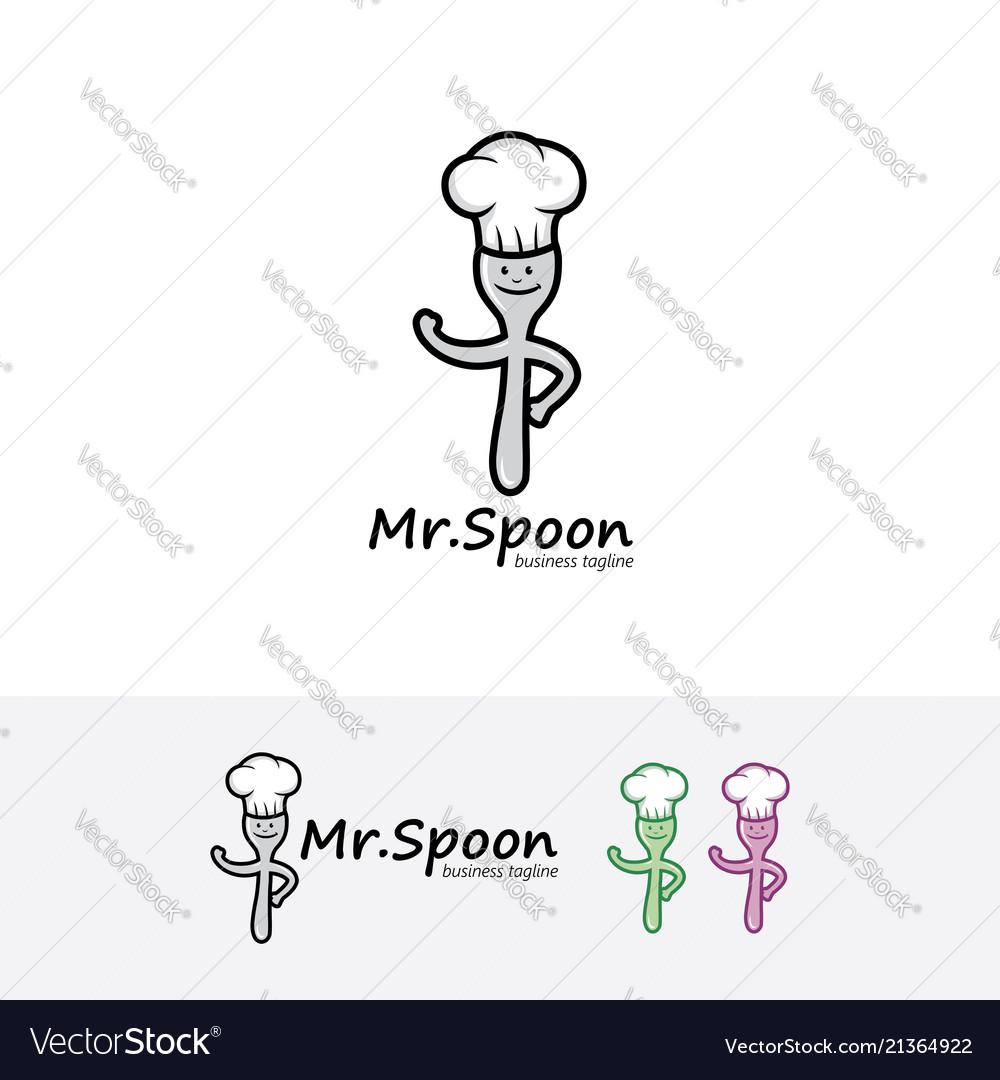Spoon chef logo