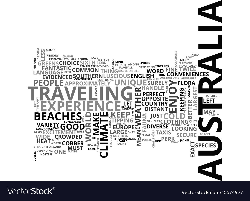 Beat the heat in australia text word cloud concept