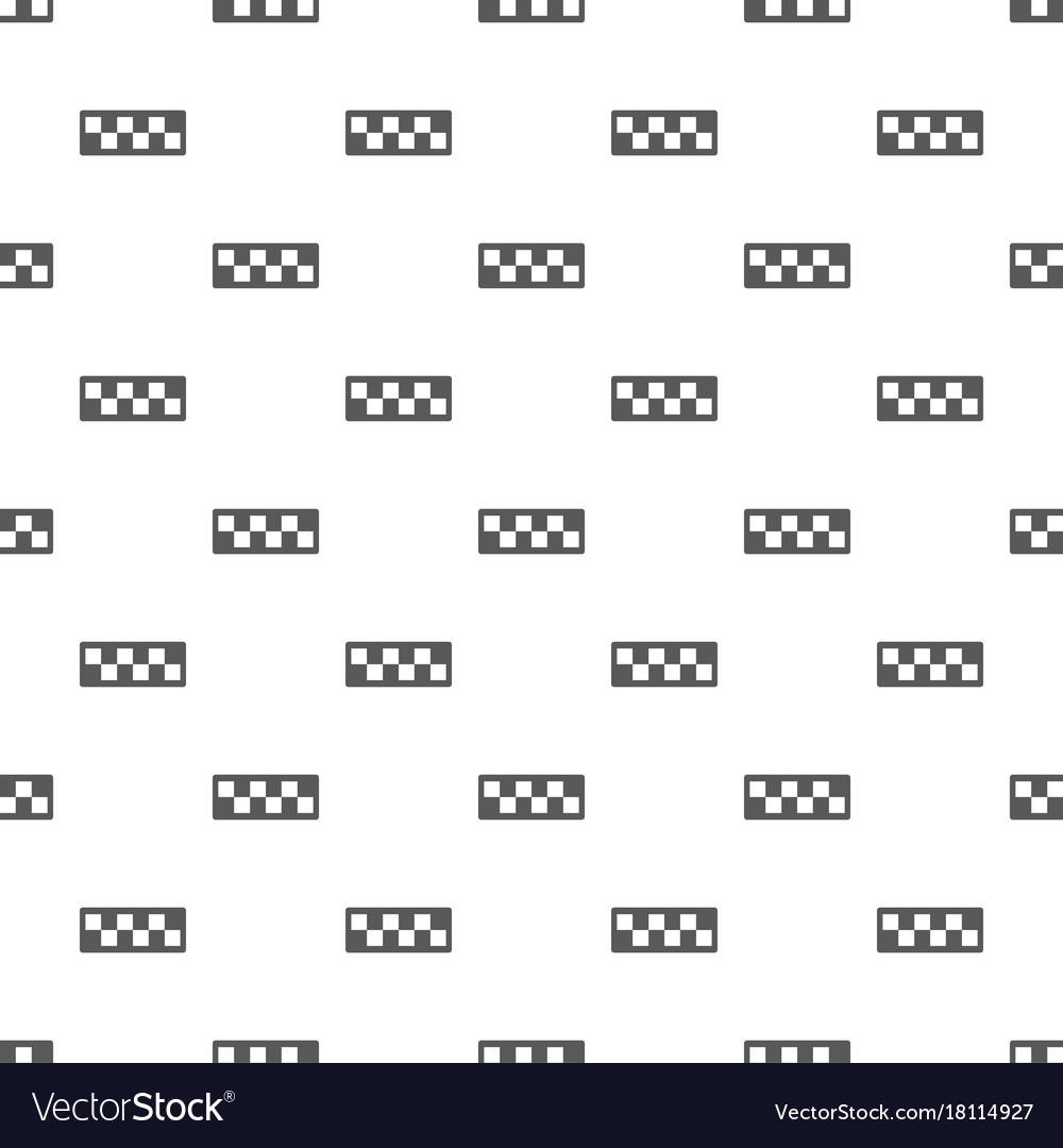 Taxi cab pattern seamless
