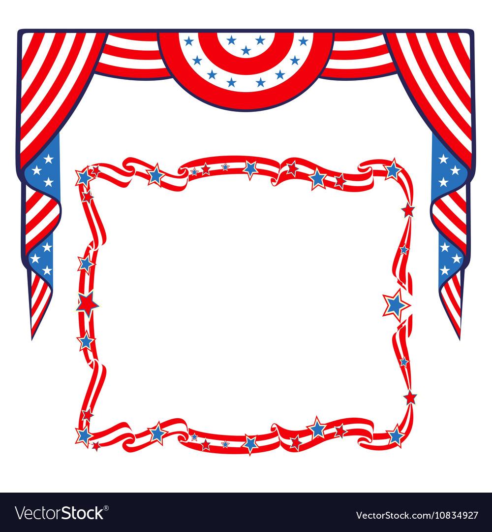 us flag template