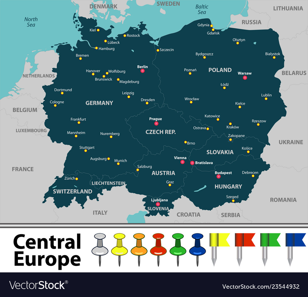 Map of central europe Central Europe Map on slovenia map, central asia, belgium map, southeast europe, eastern european map, asia map, ukraine map, syria map, eastern europe, russia map, baltic states map, france map, western europe, far east, netherlands map, nordic countries, university of el salvador, median europe, austria map, africa map, lake ilopango, northern europe, southern europe, germany map, liechtenstein map, croatia map, switzerland map, poland map, italy map, baltic countries, czech language, hungarian language, slovakia map,