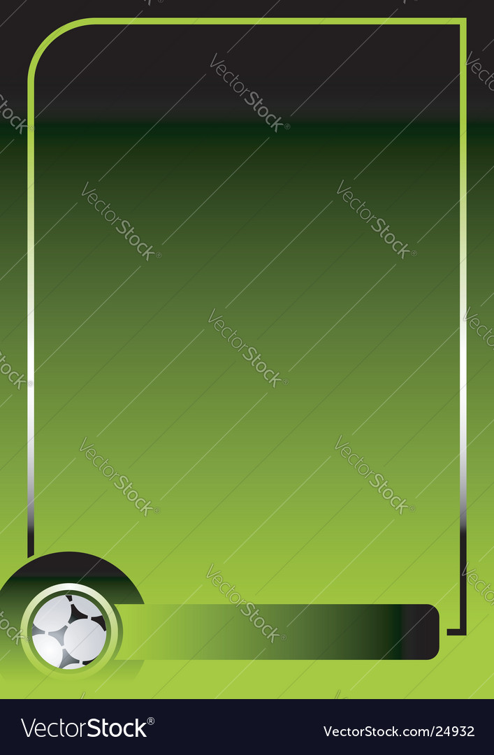 Soccer green background
