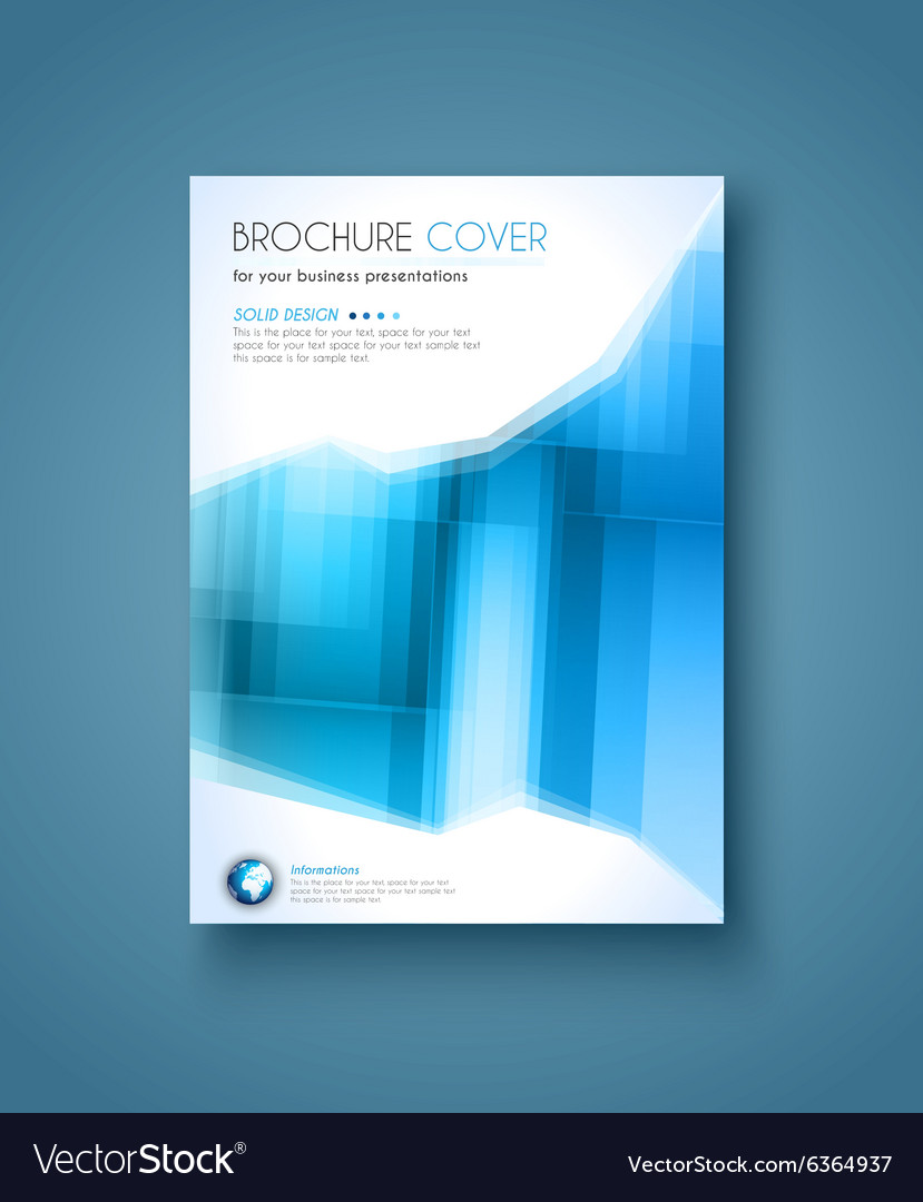 Brochure Template Flyer Design And Depliant Cover