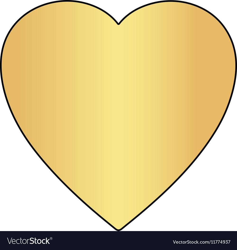 Heart computer symbol