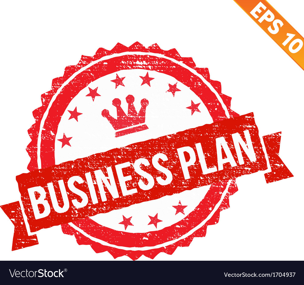 Rubber stamp business plan - - EPS10