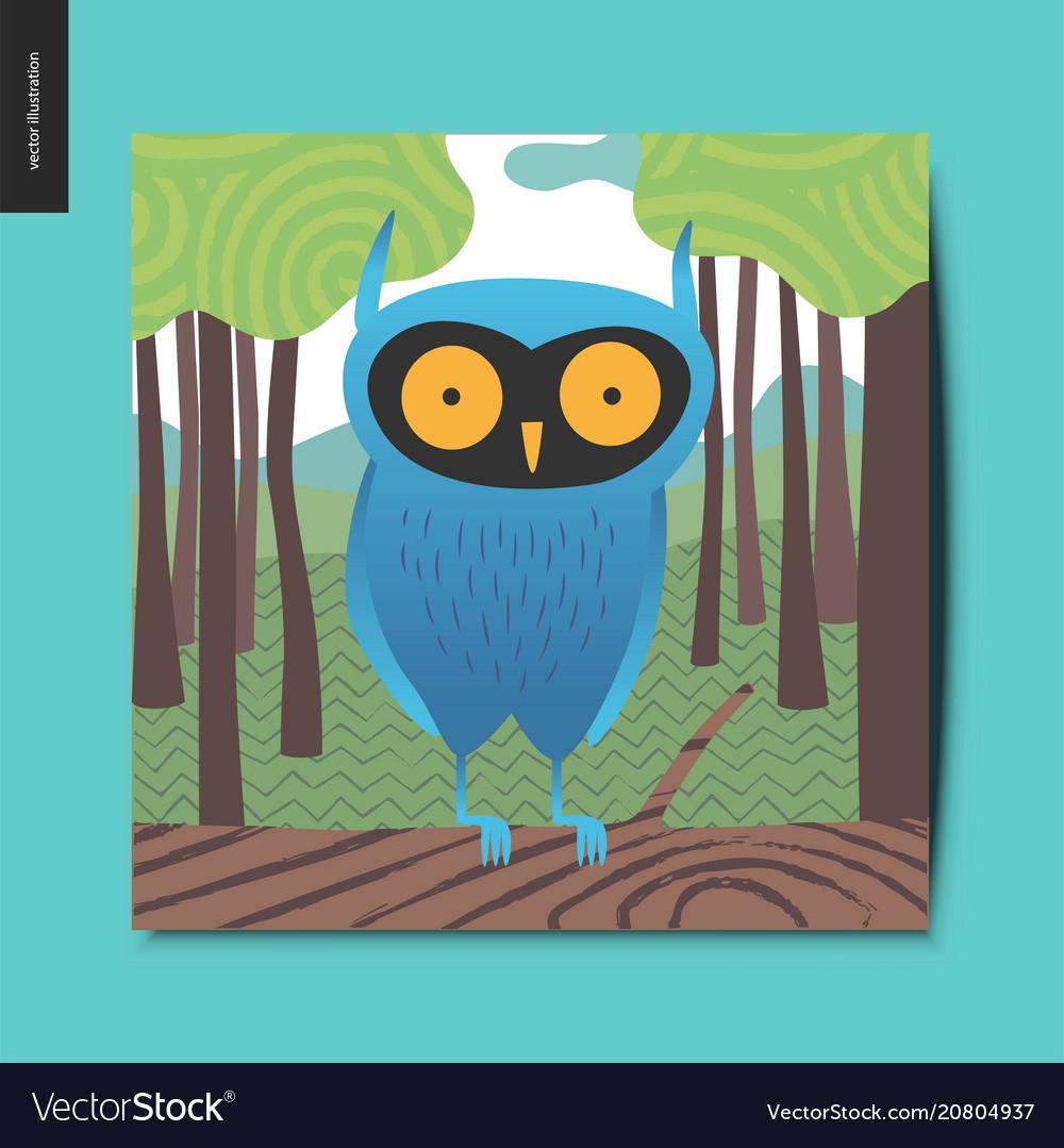 Simple things - blue owl