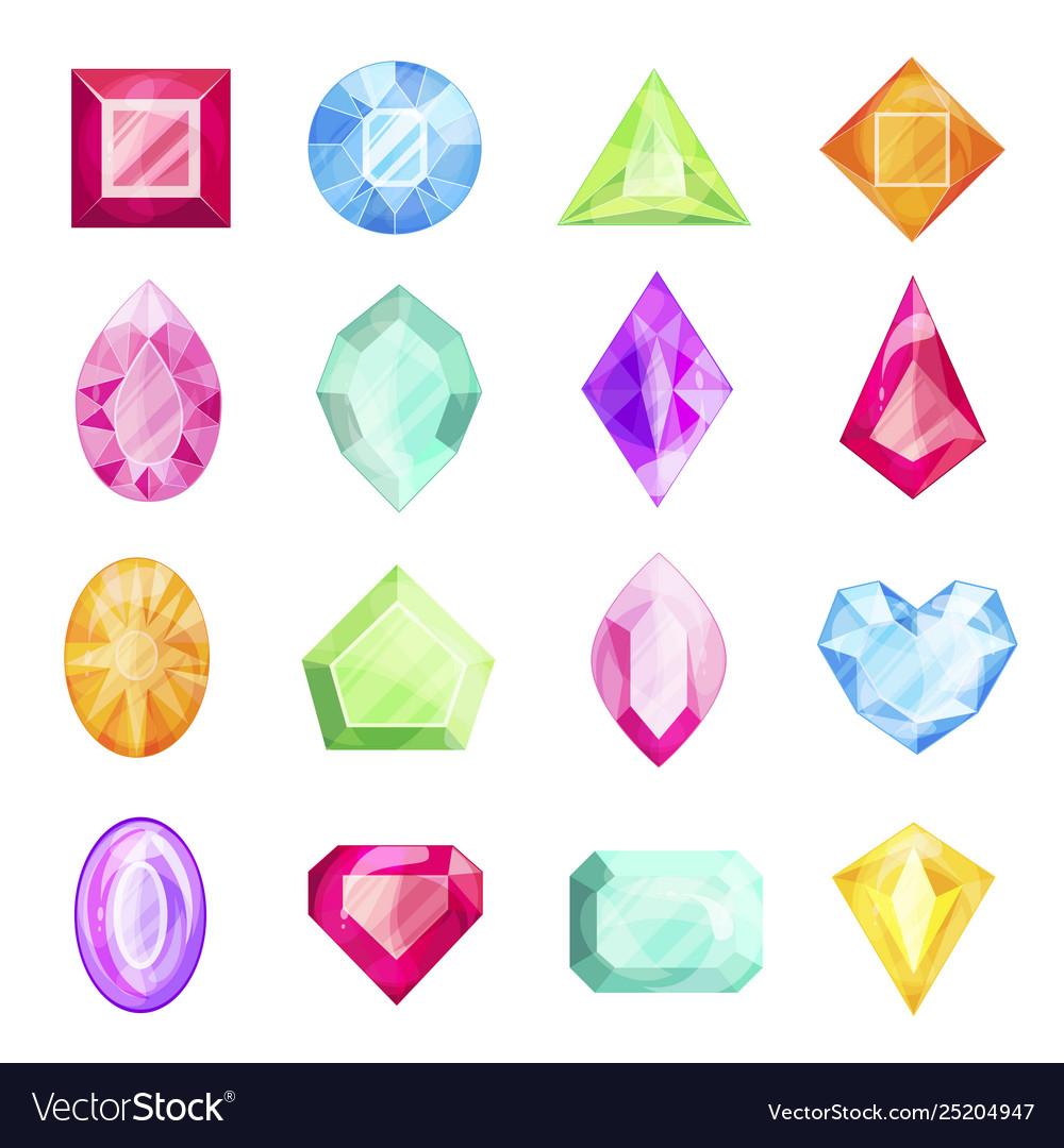 Diamond and gemstone set precious design for gift