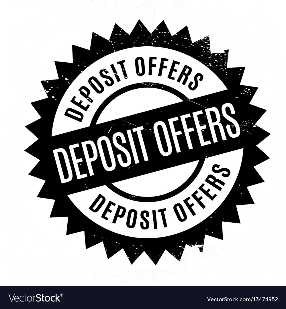 Deposit offers rubber stamp