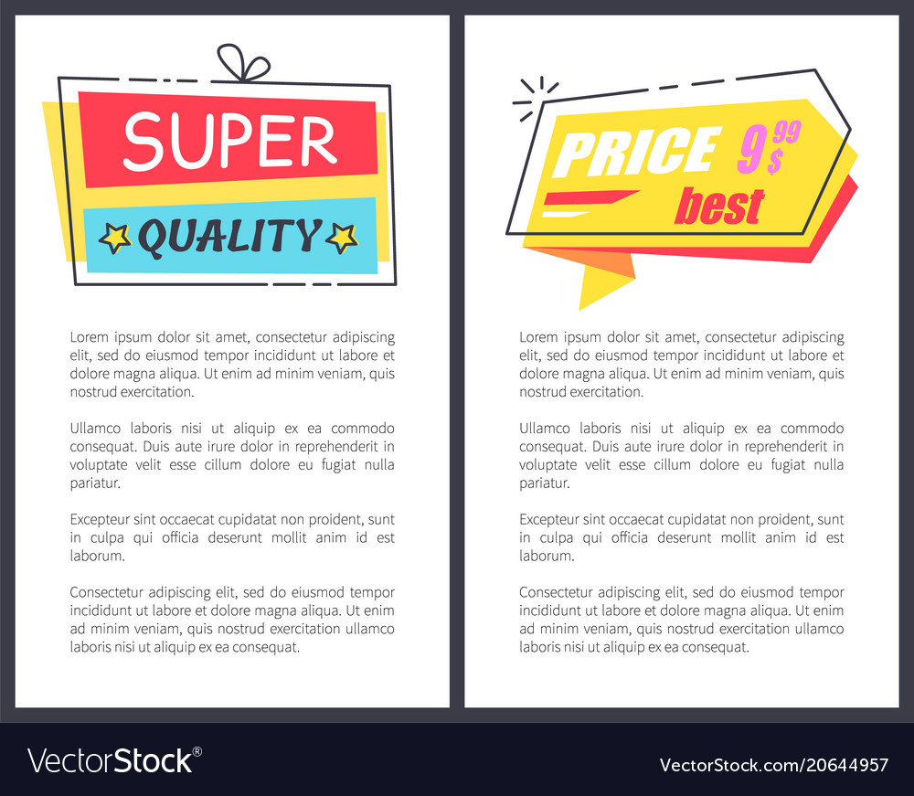 Best price for goods of super quality posters