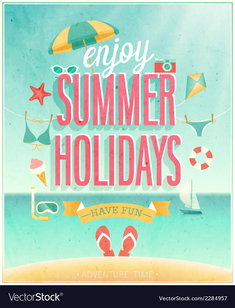 Summer holydays