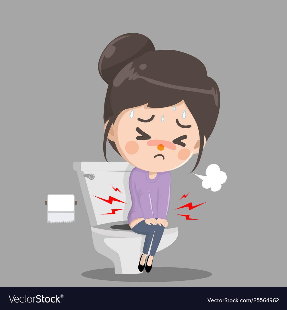 Best Girl Pee Toilet Illustrations, Royalty-Free Vector