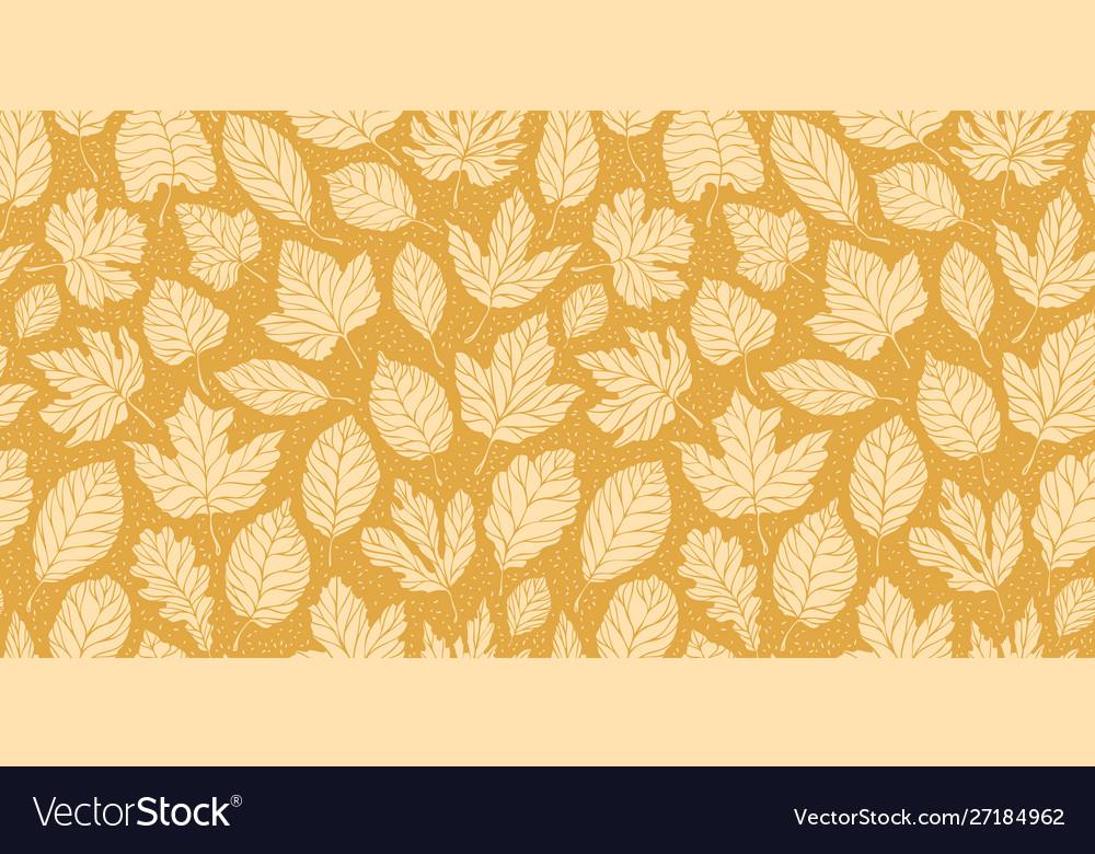 Leaf fall leaves seamless background autumn