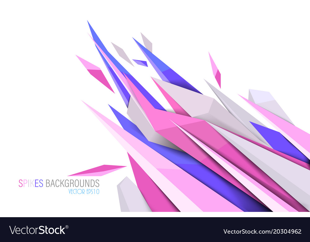 Pink colors spikes backgrounds