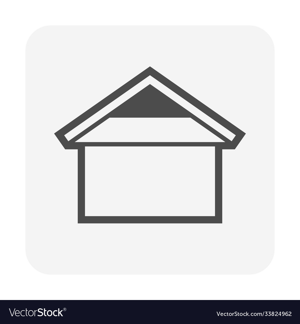 Roshape for house icon design