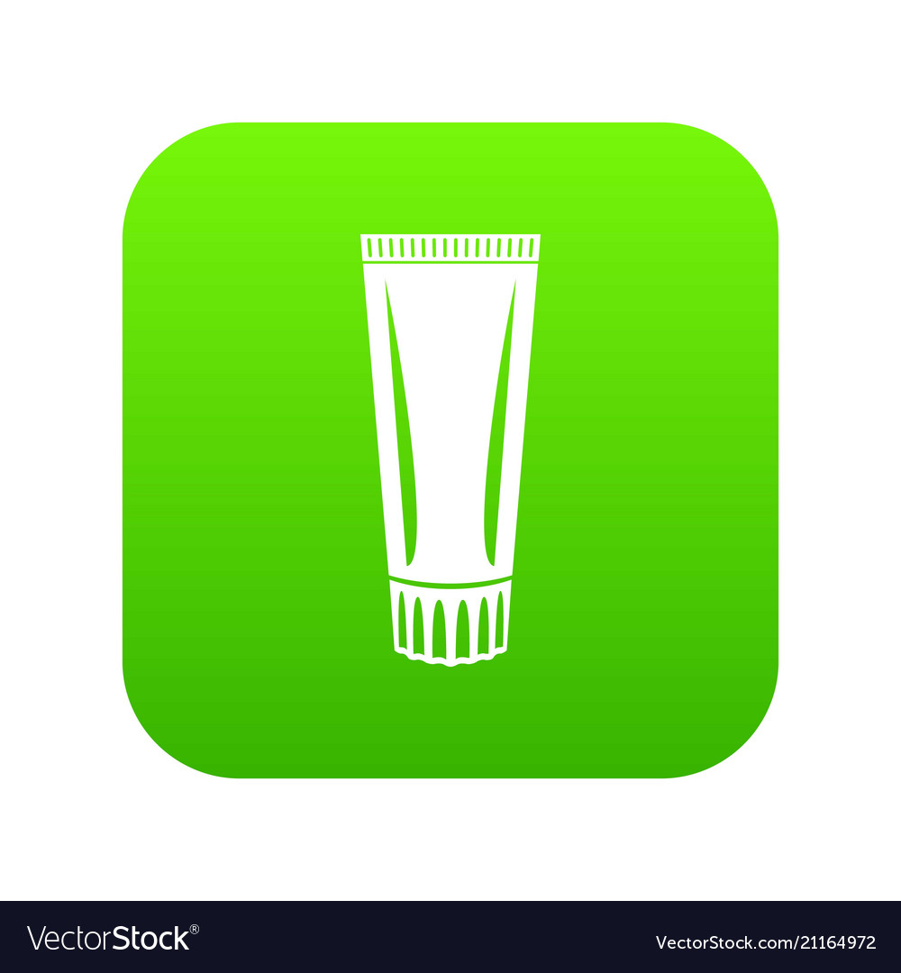 Toothpaste icon simple black style