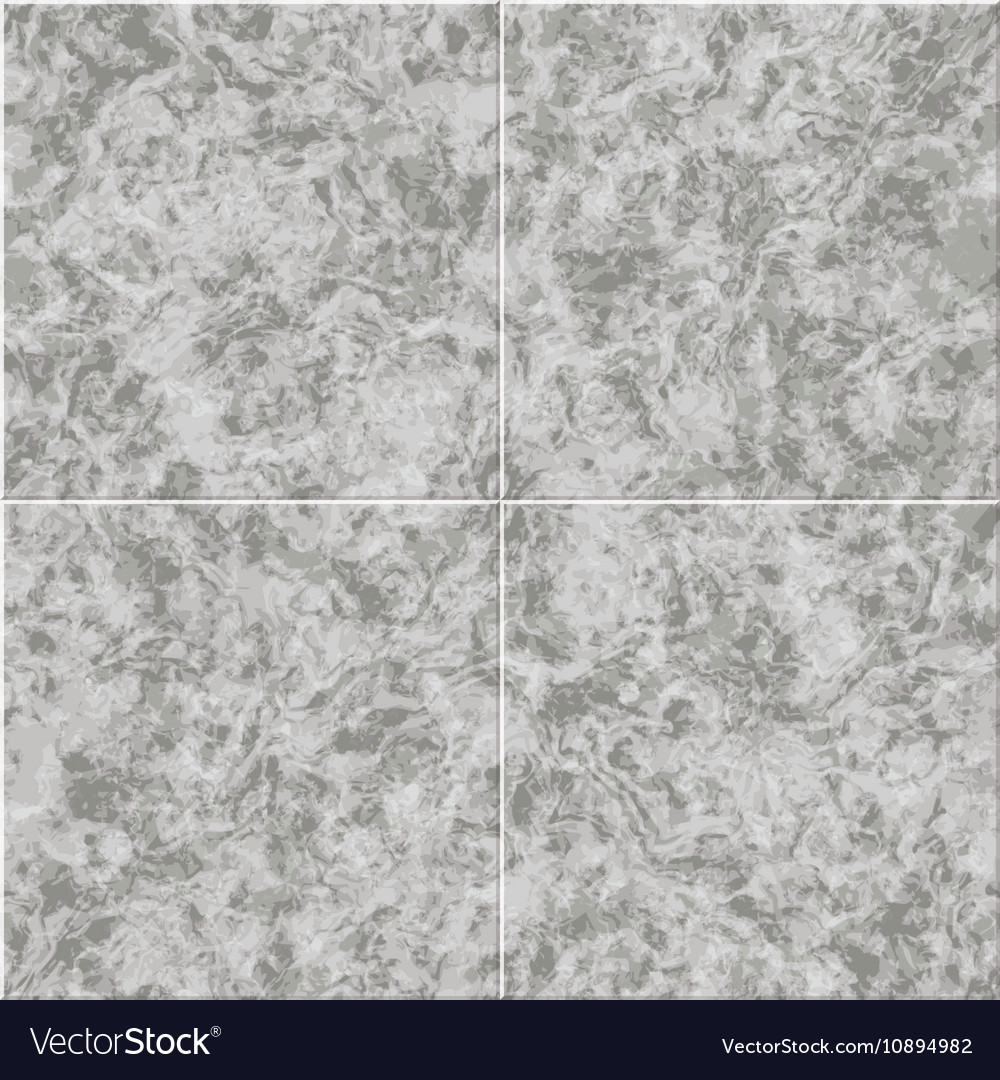 Abstract Gray Marble Seamless Texture Tiled Vector Image