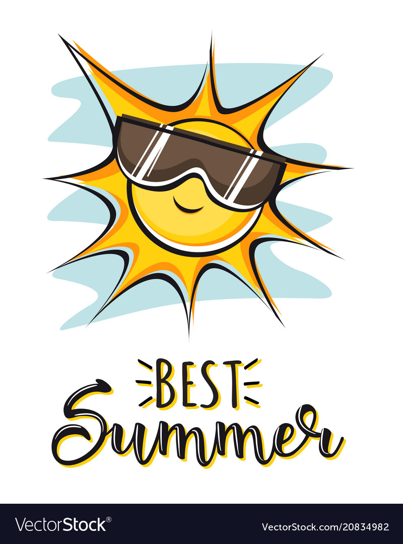 Best summer creative graphic lettering