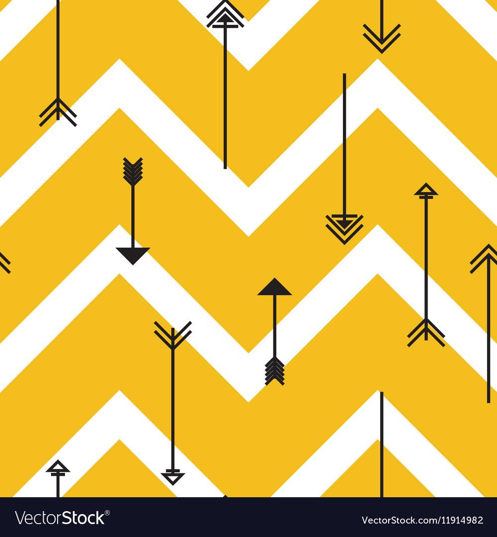 Tribal arrows seamless pattern