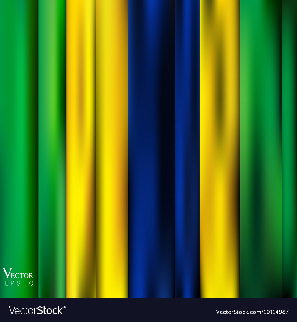 Abstract Background stripe pattern in Brazil flag