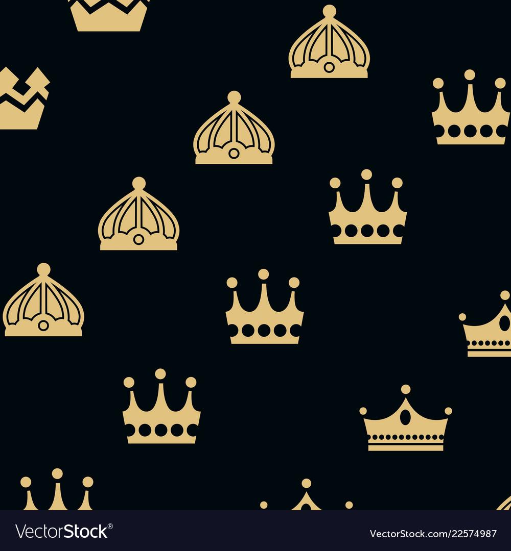 Crown king logo design