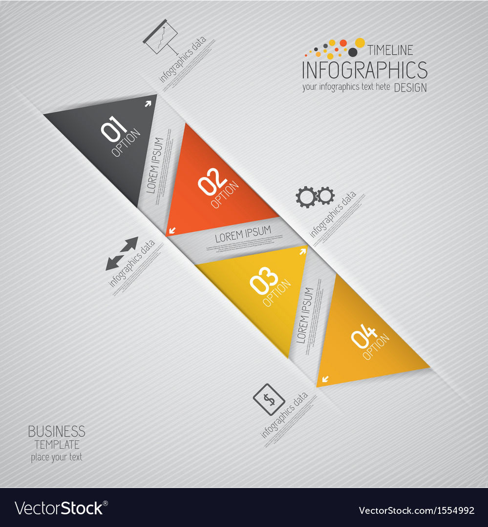 Design infographics 5 vector image