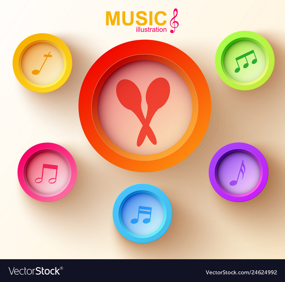 Music web design concept