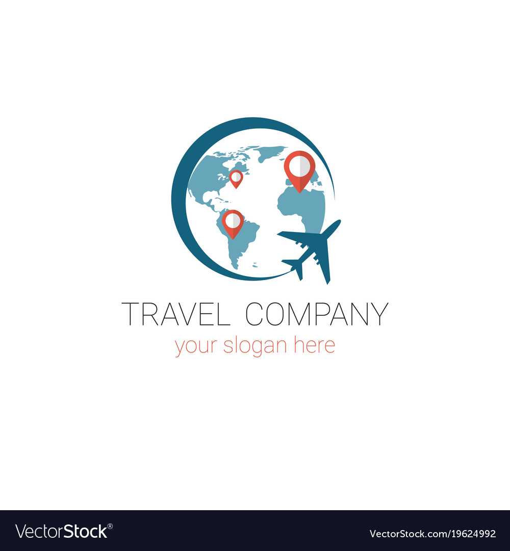 travel agency logo template tourism company banner