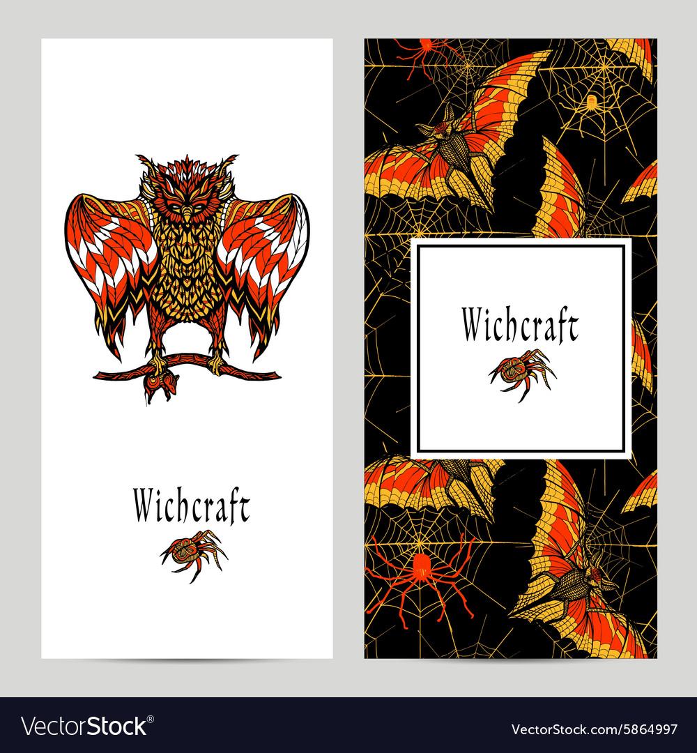 Witchcraft Magic Banner Set