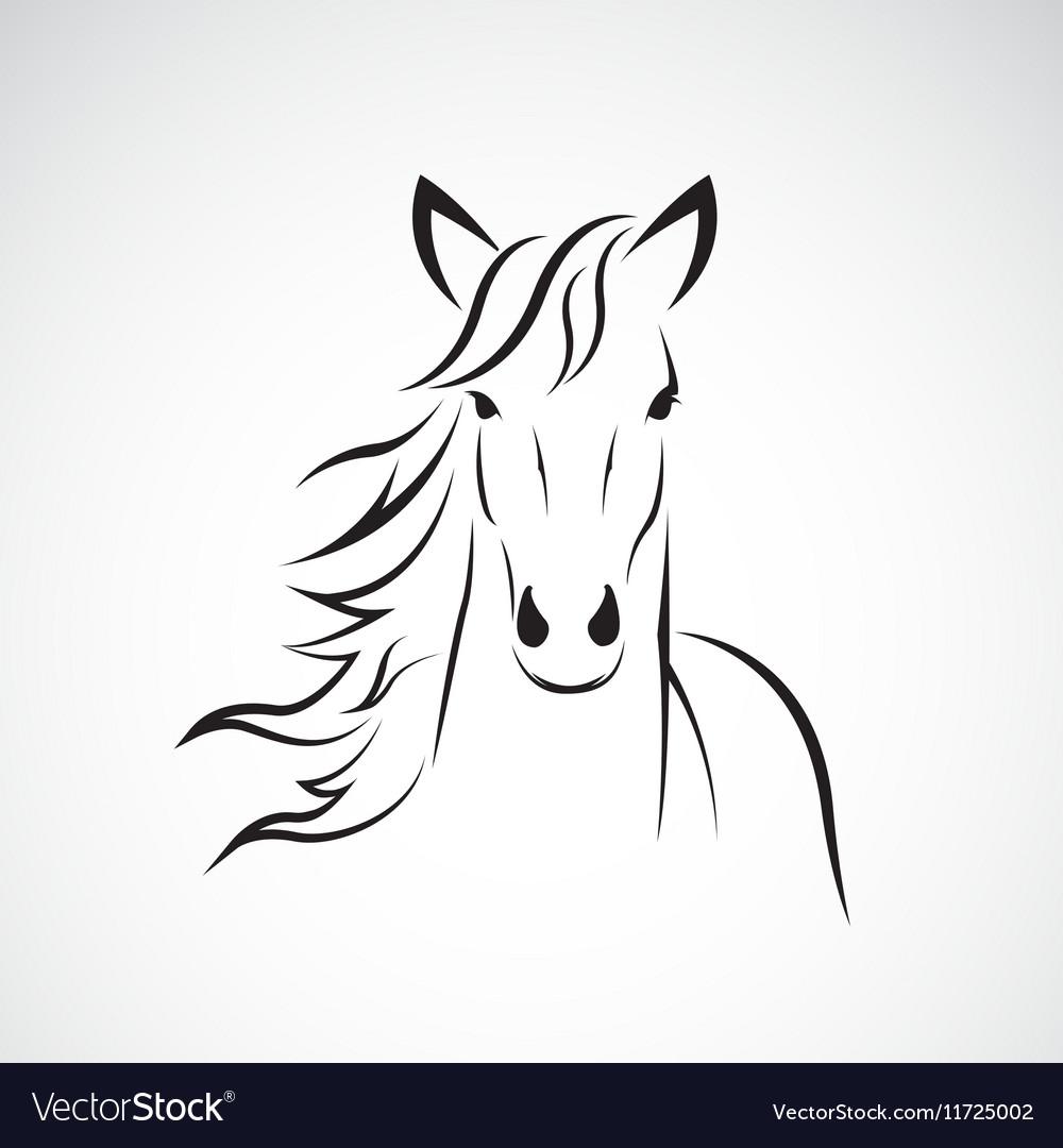 Image of a horse head design