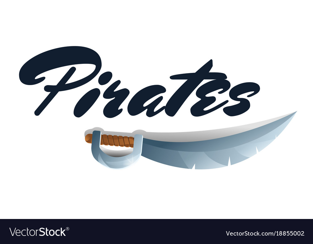 Pirates game element with sword