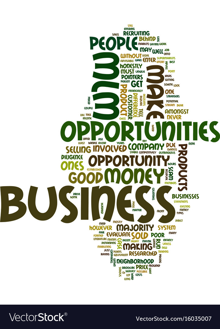 Mlm business opportunities are there any good