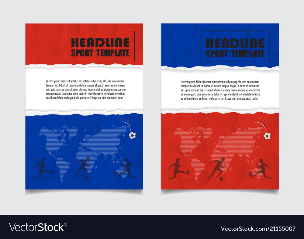 Russia flag colors background design can be used