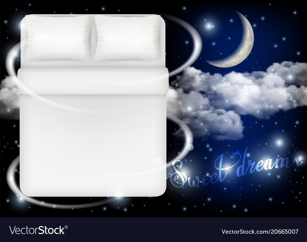 Sweet dreams concept realistic