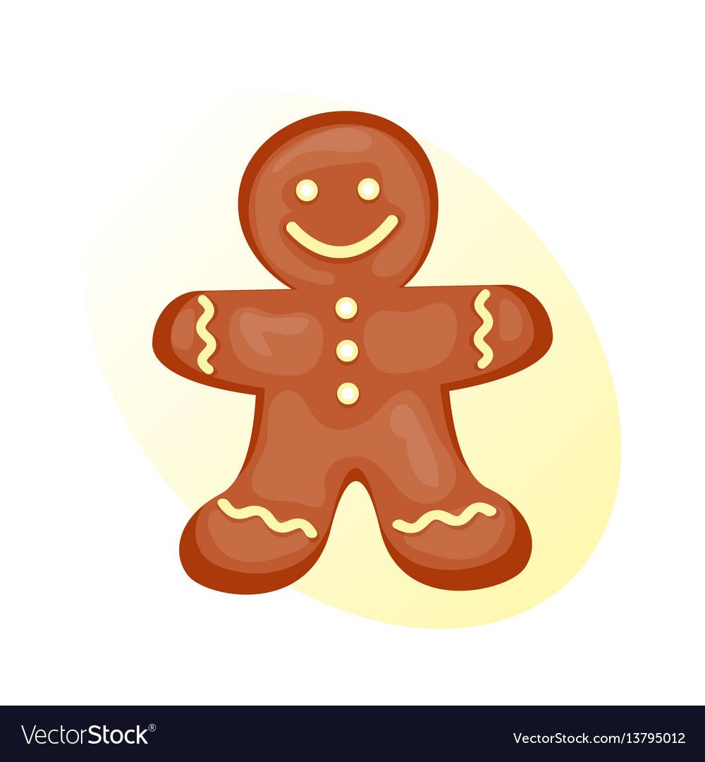 Cookie gingerbread homemade breakfast bake cakes vector image