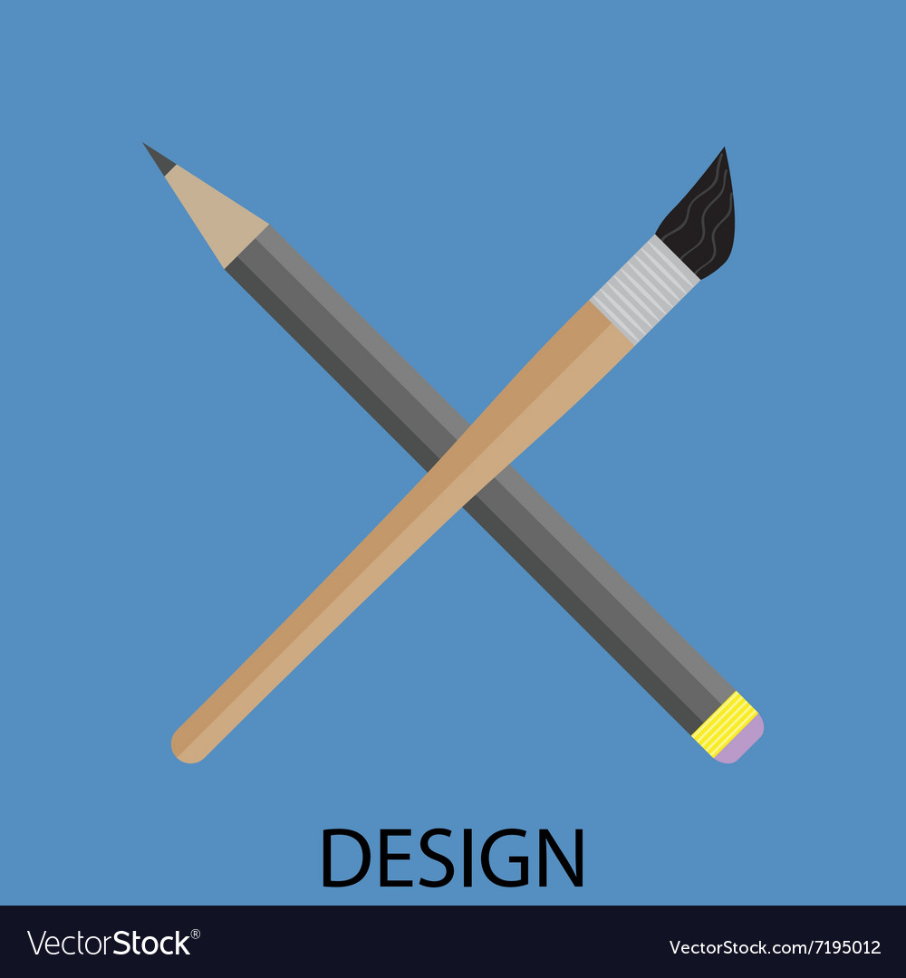 Design icon flat vector image