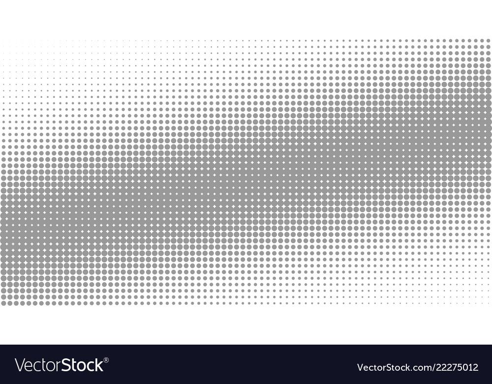 Halfton background of eryth circles arranged