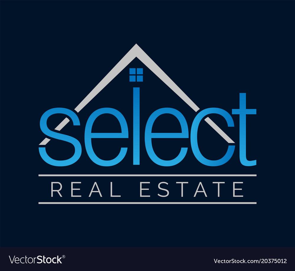 Real estate logo design