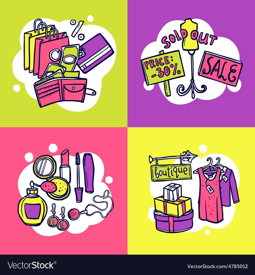 Shopping design concept