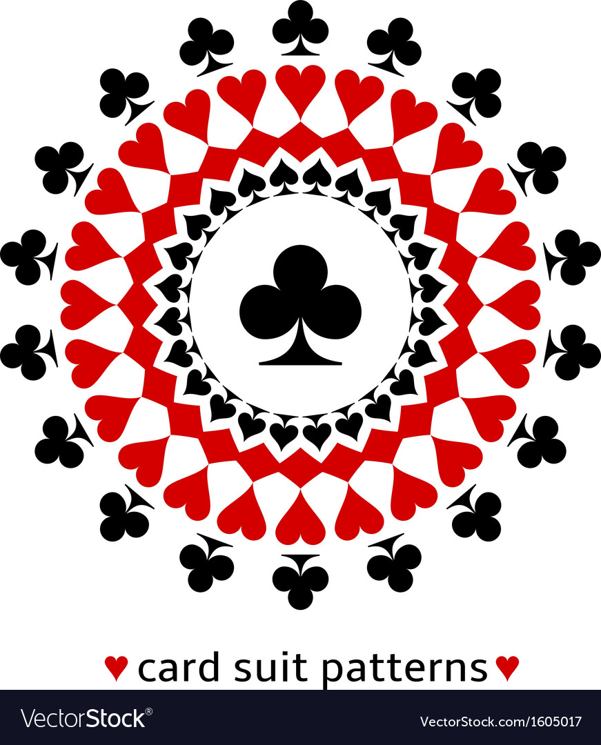 Club card suit snowflake vector image