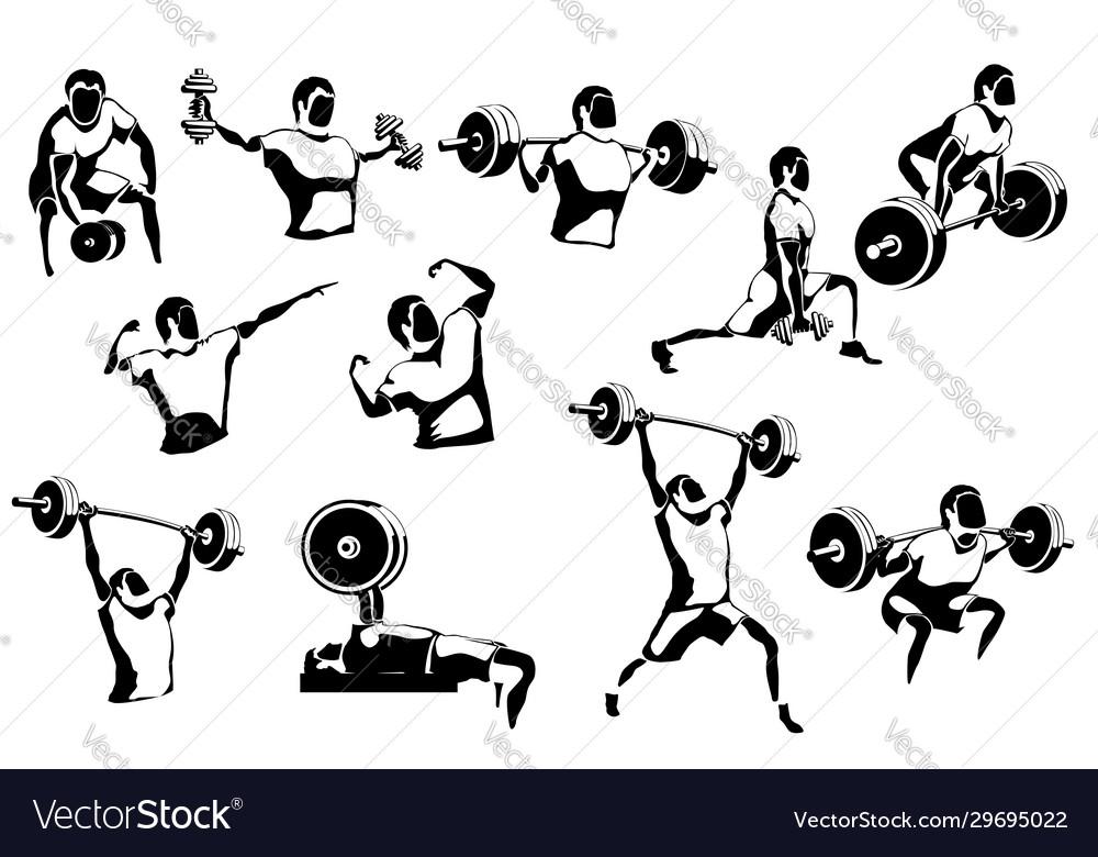 Set athletes