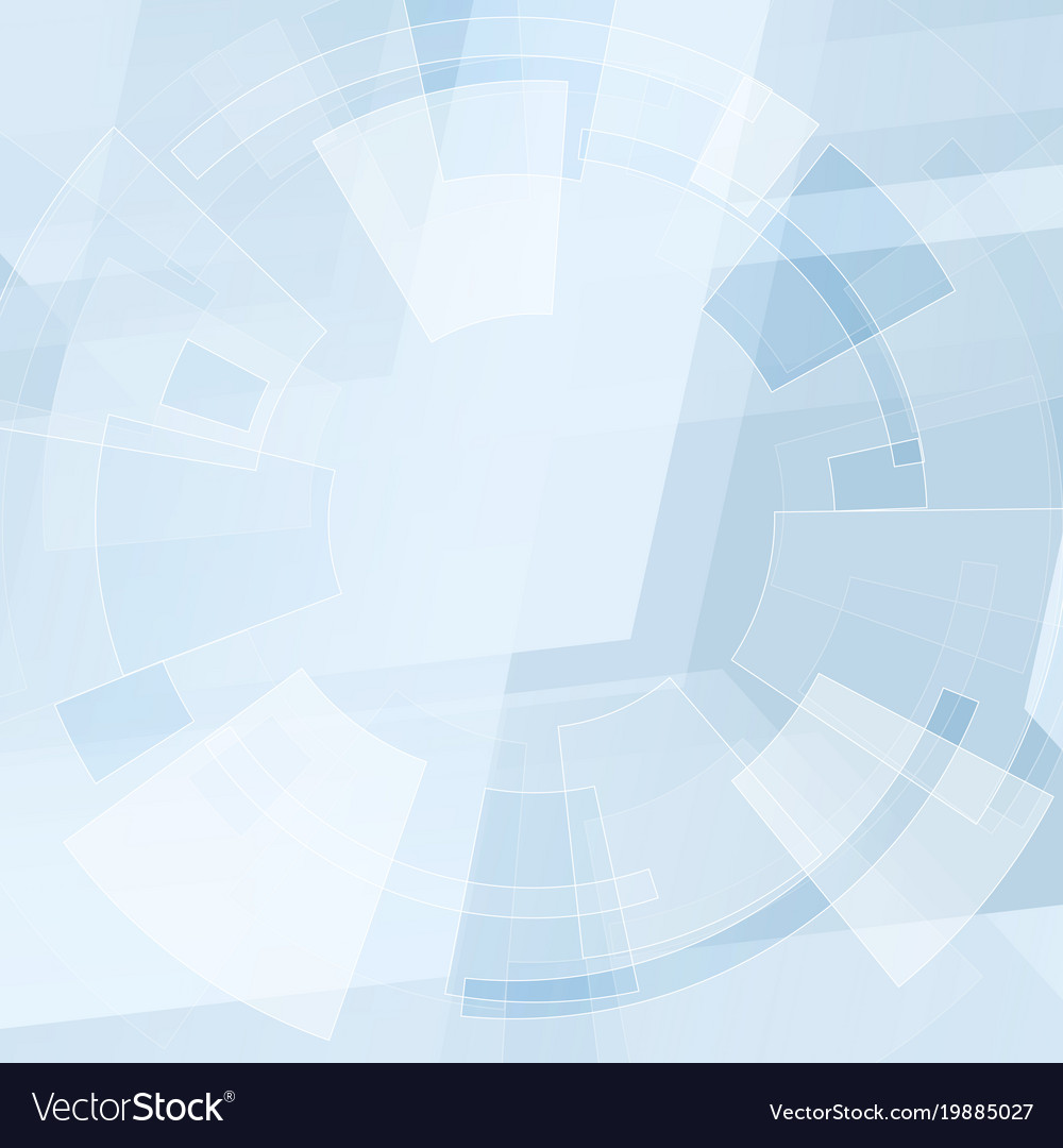 Blue Technical Abstract Minimal Background Vector Image