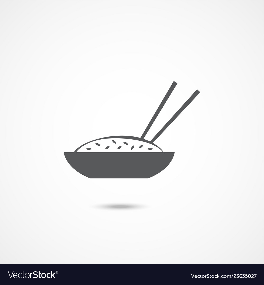 Bowl of rice icon