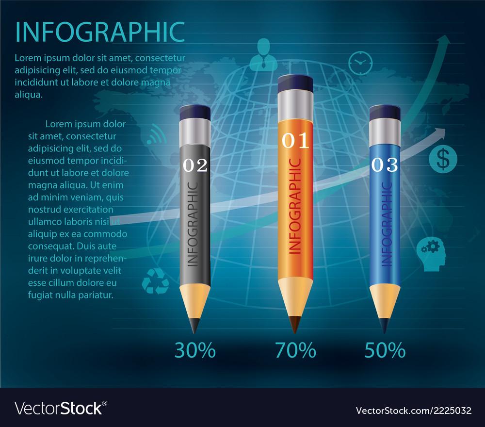 Pencil2 vector image