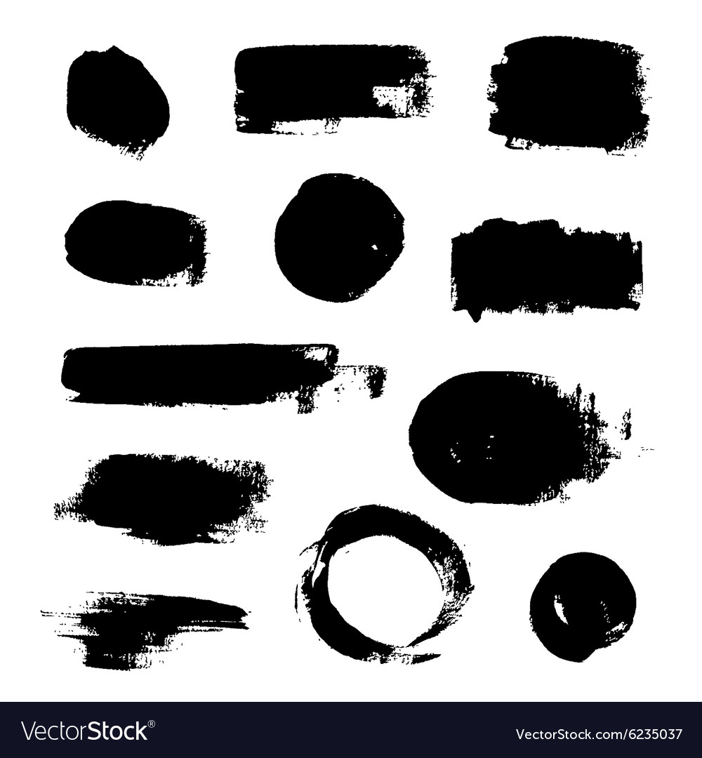 Ink Splash Backgrounds vector image