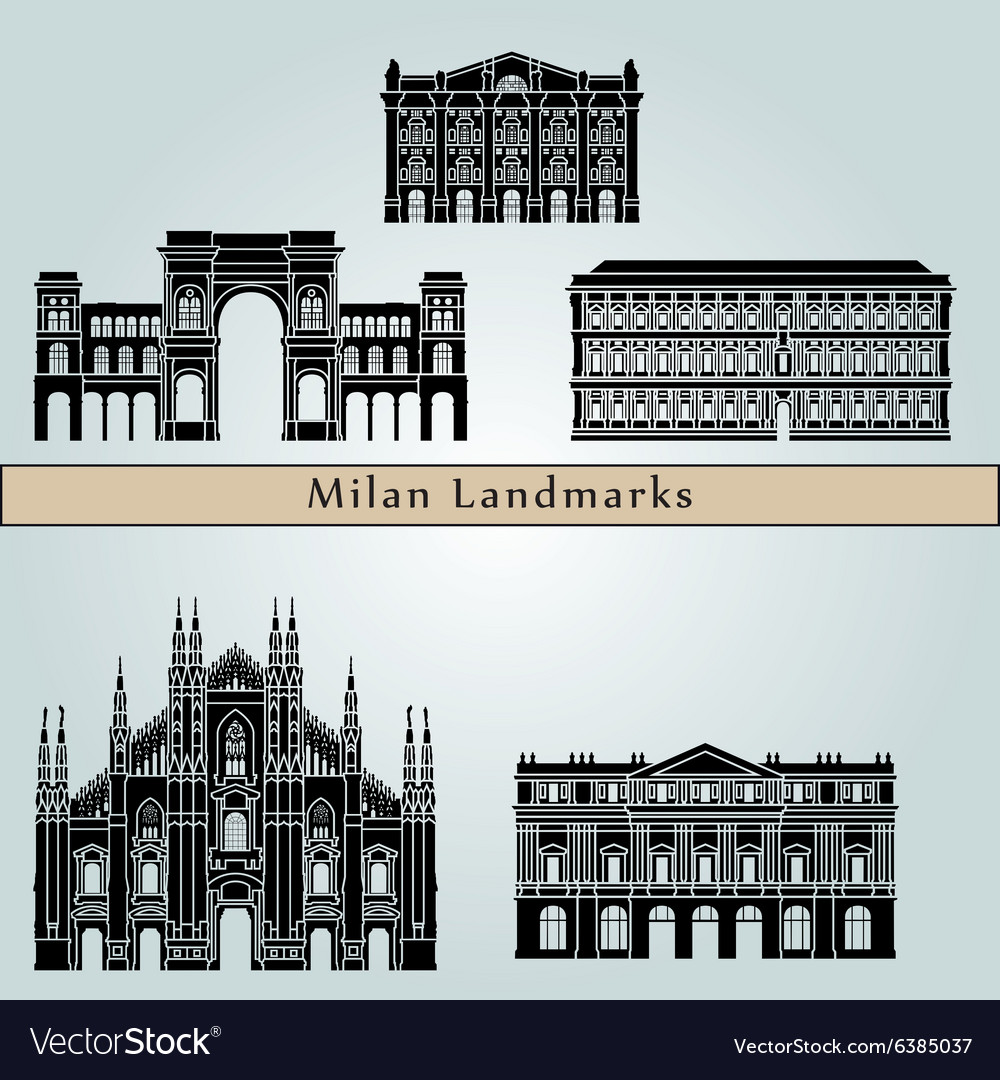 Milan landmarks and monuments