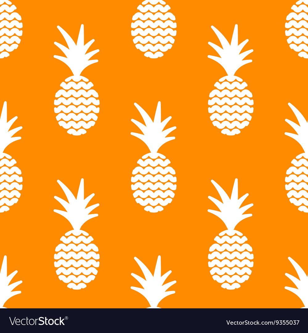Pineapple simple vetor seamless background